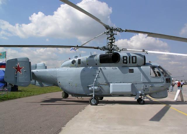 Russia, France and Italy are upgrading anti-submarine Ka-28