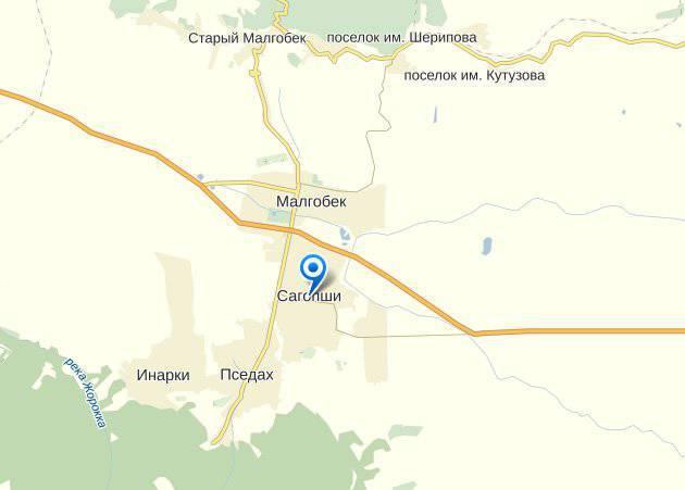 Боевики в Ингушетии укрывались в доме полицейского
