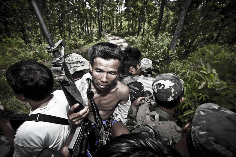 "Civil War in Burma: The Opium Wars nel ""Triangolo d'oro"" dei Monti Shan"