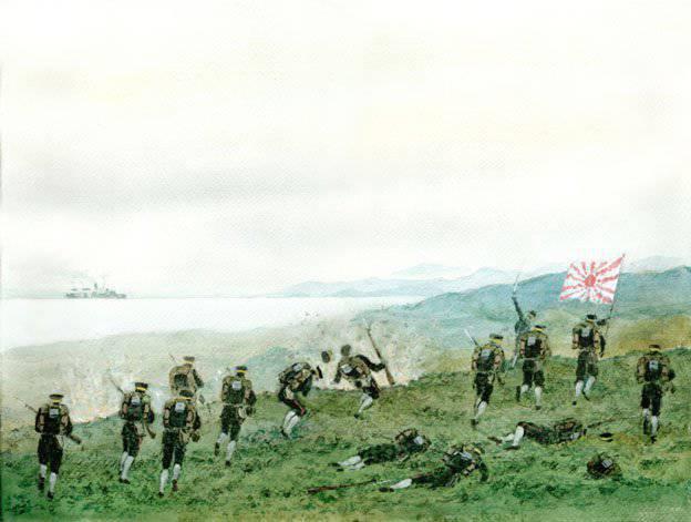 """Schlacht um das """"Port Arthur Gate"""". Teil von 2"""