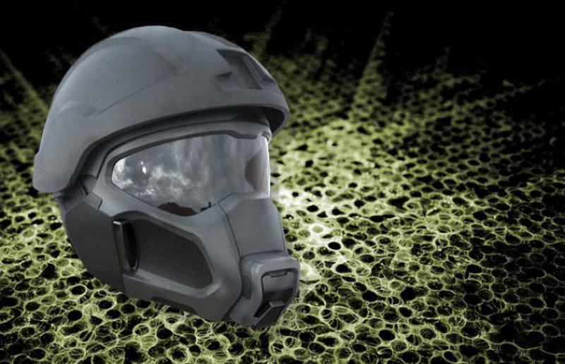 El ejército de los Estados Unidos recibirá una máscara de energía, similar al casco de Darth Vader.