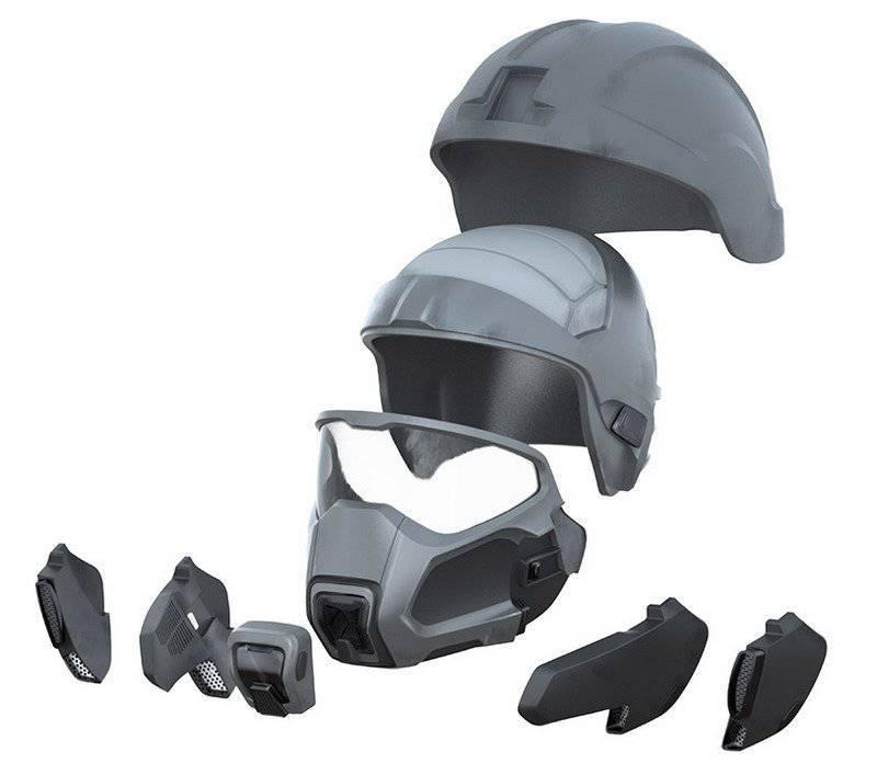 Американские военные получат энергомаску, напоминающую шлем Дарта Вейдера