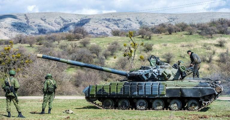 우크라이나, 크리미아에서 1 억 달러에 군사 장비 수출