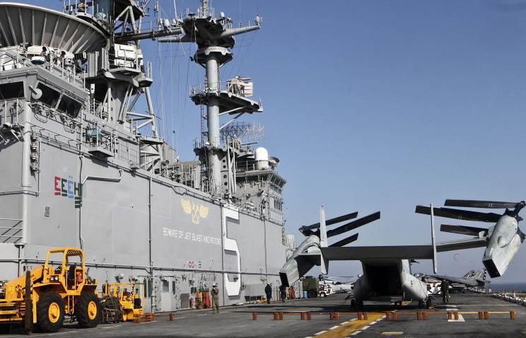 ABD, Libya'daki durumun daha da artmasıyla bağlantılı olarak Akdeniz iniş gemisine gönderildi
