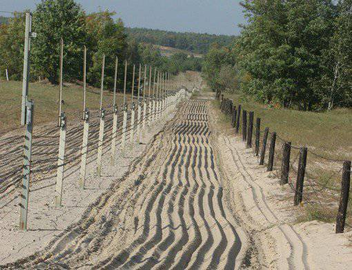 Kiev is going to equip a buffer zone on the borders with Russia