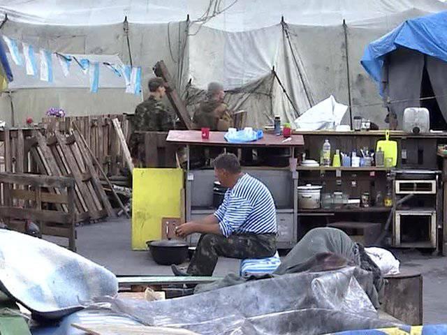 Maidan permanecerá no local até que as demandas dos manifestantes sejam atendidas