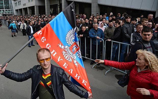 동남부를 구하기 위해 러시아는 스스로를 구한다.