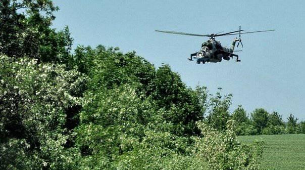 Milizen ergriffen die Nationalgarde unter dem Arsenal von Lugansk