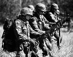 Brigadier en una fila