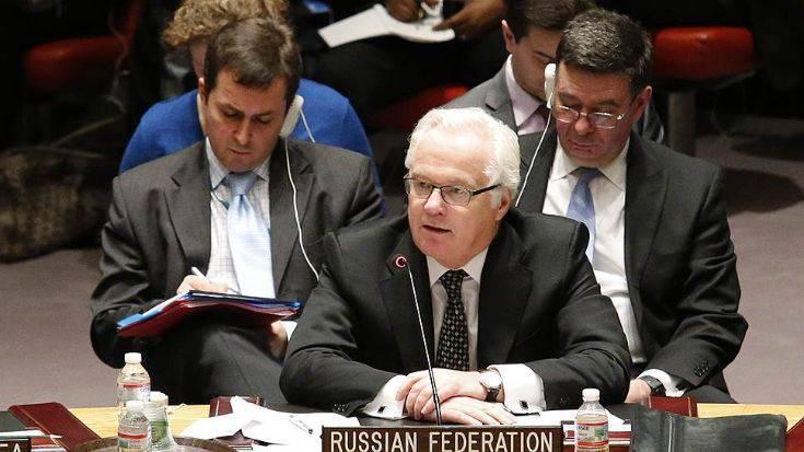 Vitaly Churkin, UN 상임 러시아 대표, 5 월 28, 2014의 연설과 답변
