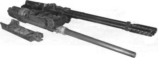 Inländische Nachkriegsflugzeuge Kanonen Kaliber 23 mm. Teil II