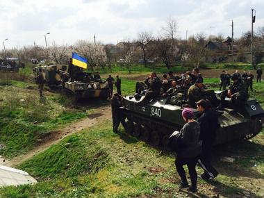 우크라이나 보안군, 6 월 14 이전 우크라이나 동부 지역에서 특별 가동 완료