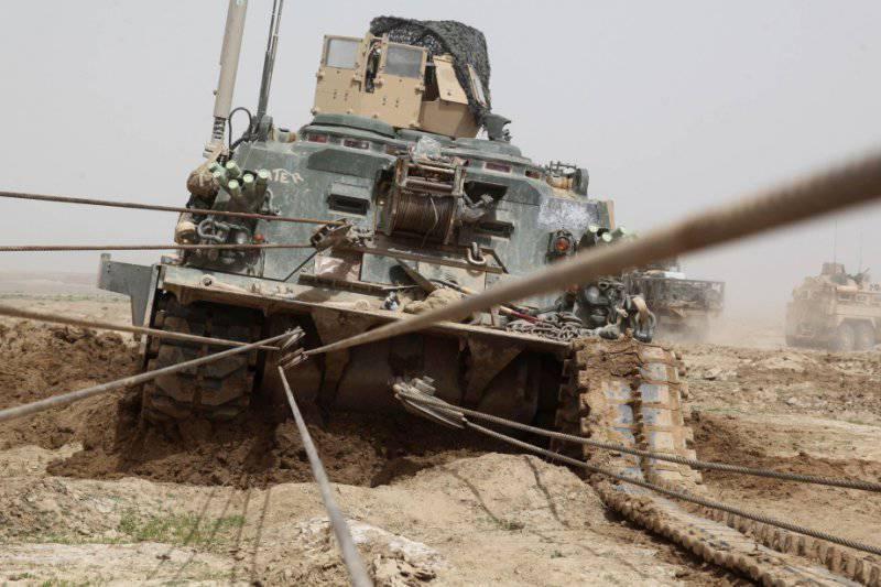 Американская бронированная ремонтно-эвакуационная машина М88