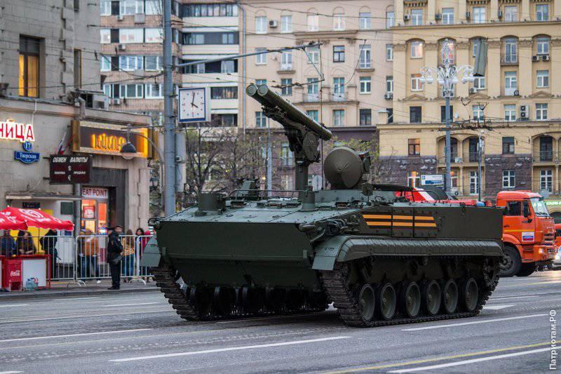Новая военная техника на параде 9 мая