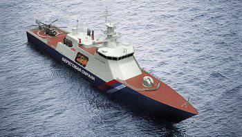 Первый корабль проекта 22100 «Океан» спускают на воду