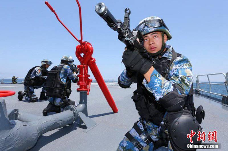 Завершились учения «Морское взаимодействие-2014