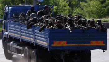 Донецкое ополчение получило большое подкрепление