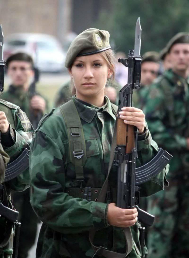 Женщины в армиях иностранных государств