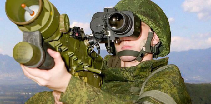 Войска получают новый ПЗРК «Верба»