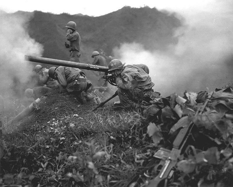 American and British recoilless guns
