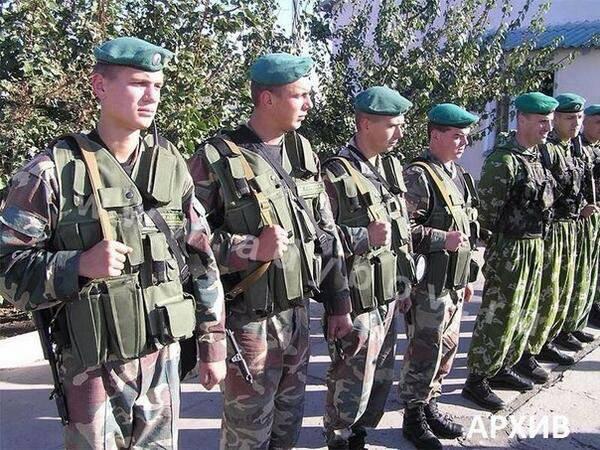 Украинские пограничники уходят с Украины на территорию РФ или переходят на сторону народного ополчения