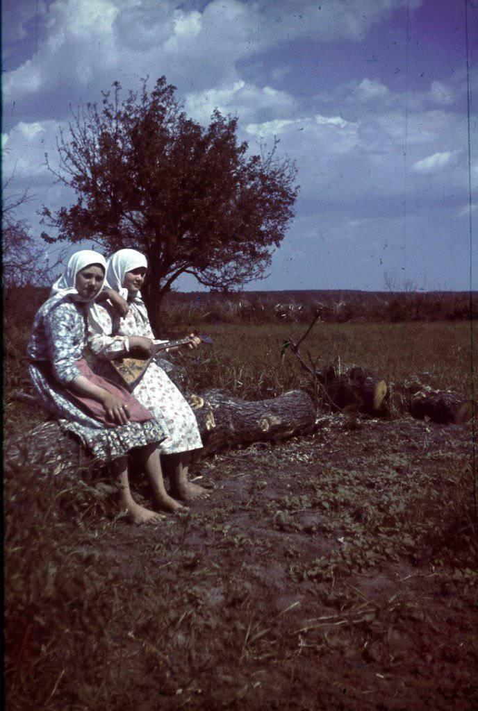 Belgorod bölgesindeki fotoğrafçı Franz Grasser. 1943