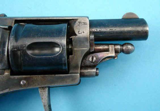 Бельгийский револьвер Велодог «фасон Браунинг» калибра 6,35 мм