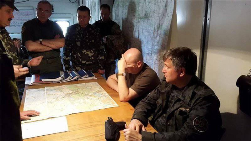 Avakov licenzia gli agenti di polizia che hanno rifiutato di partecipare all'ATO e ammette che c'è una guerra nel paese