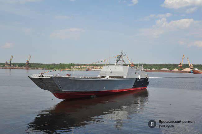 Im französischen Lorient und in unserem Jaroslawl werden Landungsboote für die russische Marine gebaut