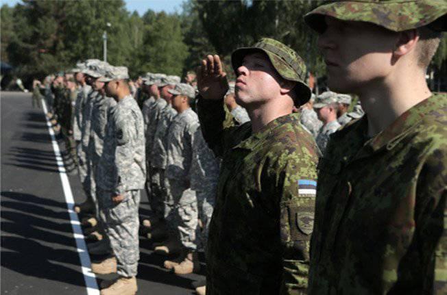 Nuovi esercizi NATO nei paesi baltici - Sabre Strike 2014. Lettoni, prenditi cura delle aiuole