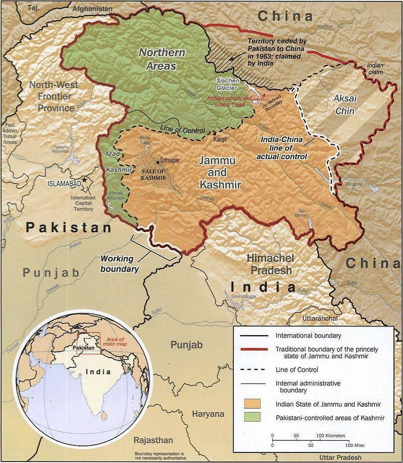 克什米尔:印度西北部的永恒战争