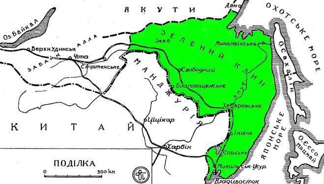 «Зеленый клин» дальневосточных самостийников: как захлебнулся украинский национализм в Уссурийском крае