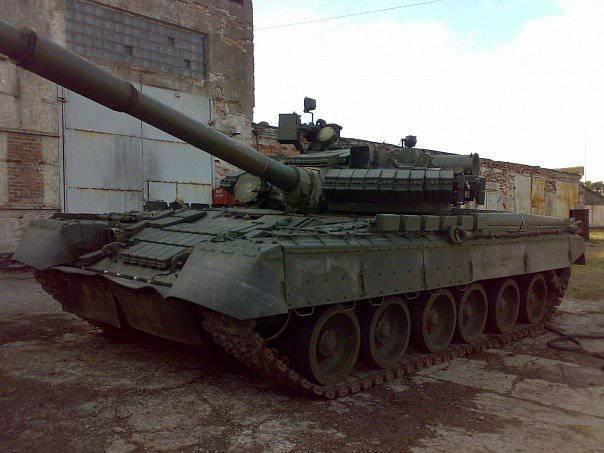 아르 티 노브 스크에있는 탱크 기지