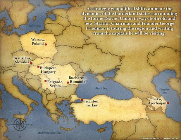 """George Friedman: Borderlands: Die Ukraine und die USA """"geopolitische Zukunft"""""""