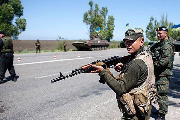 Украинские силовики выдвигаются к Луганску