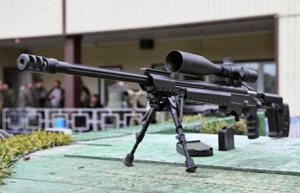 Русская высокоточная винтовка ОРСИС Т-5000 против американской XM2010
