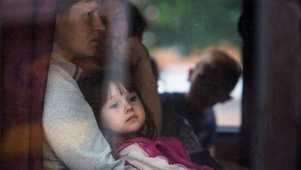 На территорию России прибыли более 13.5 тысяч украинских беженцев