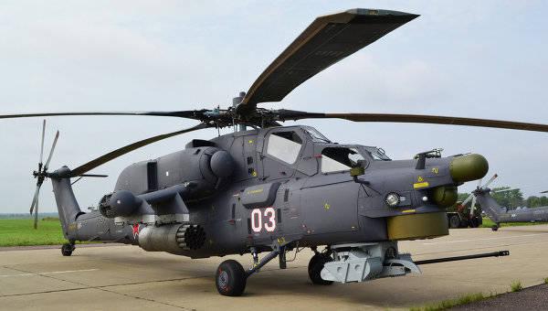 Radioelectronic Technologies Concern正在为Mi-28HM开发设备