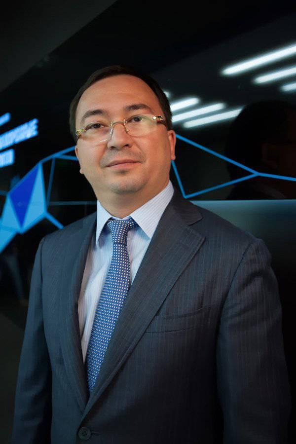 JSC有关无线电电子技术(KRET)第一副总经理的采访