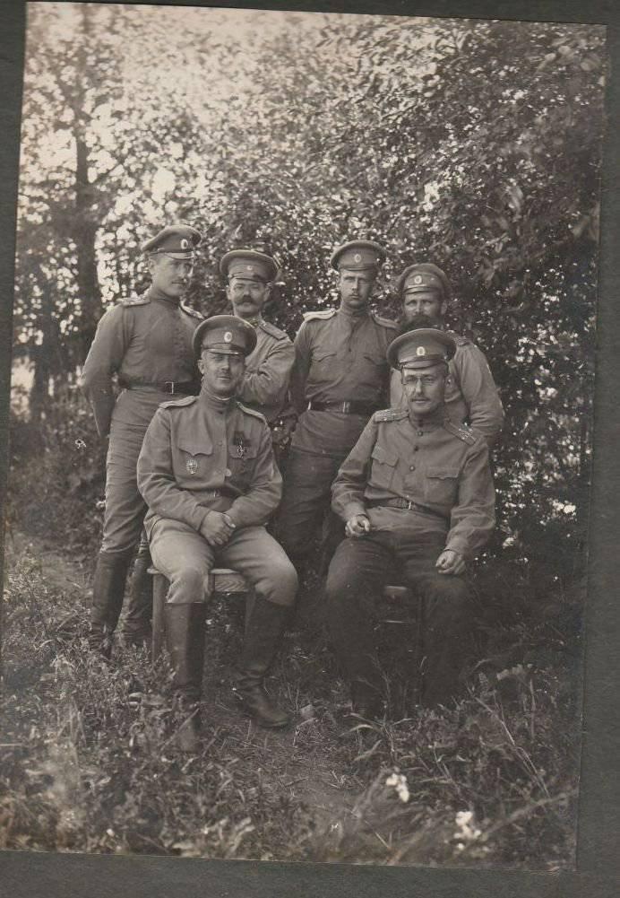 Oficial del álbum 28 Siberian Rifle Regiment