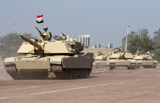 """""""अब्राम आग पर हैं"""": एम 1 ए 1 एम टैंक के इराकी शाप"""