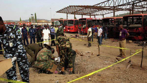 En Nigeria, un atacante suicida se inmoló mientras veía un partido de fútbol.