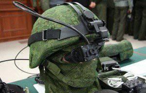 Новая российская экипировка военнослужащего