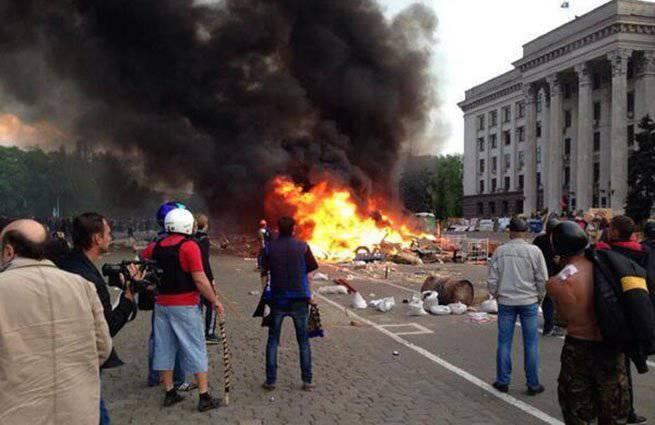Наблюдатели ООН подтвердили причастность «Правого сектора» к событиям 2 мая в Одессе