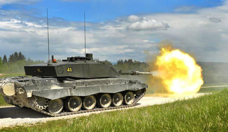Великобритания модернизирует танки Challenger 2