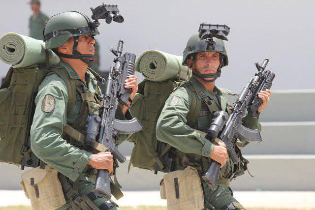 Венесуэла: автоматы Калашникова и танковый биатлон
