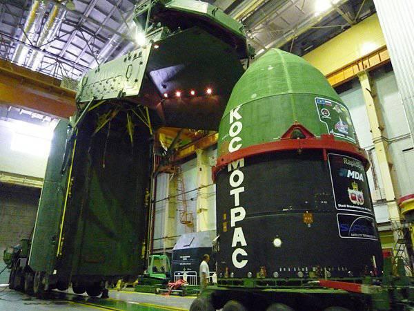 Ракета-носитель «Днепр» доставила на орбиту 33 малых спутника