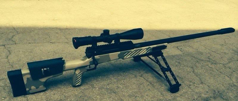 О «кастомах» от Lobaev Arms: СВЛК-14С в ложе McMillan TPR