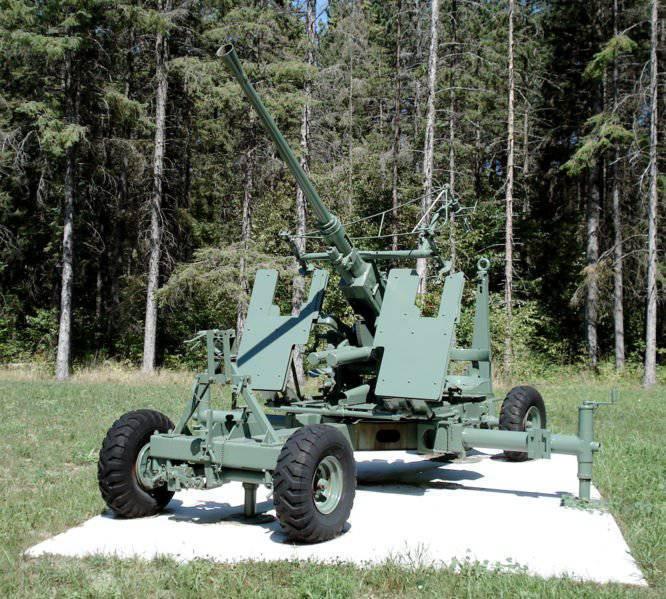 40-mm anti-aircraft gun Bofors L / 60