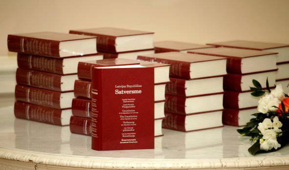 "Латвийская Конституция в стиле ""наци"""